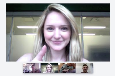 Google + (Plus) Project Hangouts