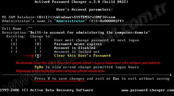 Windows 7 взлом пароля администратора программа.