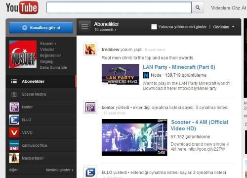 Nihayet Youtube'da Türkçeleşti